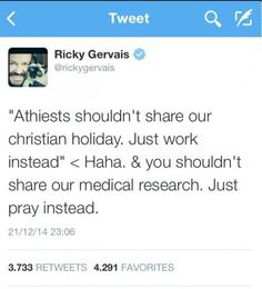 Religious idiots need to stop trying to get the best of Atheists. We're gonna humiliate you every time.