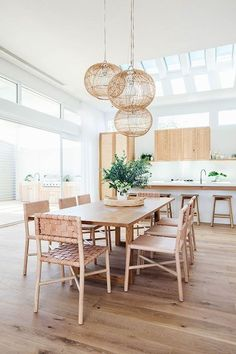 Simple And Natural Home Design Ideas To Have Simple Of Life - Home trends change along with the needs of consumers and of the general population. Modern home design aims to satisfy those changing needs by providi. Dining Room Inspiration, Home Decor Inspiration, Decor Ideas, Room Ideas, Decorating Ideas, Diy Ideas, Decorating Websites, Inspiration Design, Ikea Ideas