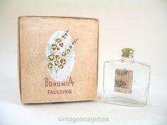 Vintage Faulding Boronia mini perfume bottle by VintageImageBox