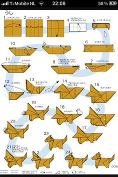 870 Best Origami Diagrams Images On Pinterest