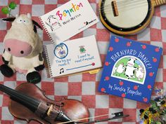 Stomp your feet! Clap your hands! Everybody ready for a BARNYARD DANCE! Learn more about the Barnyard Dance! interactive story app.