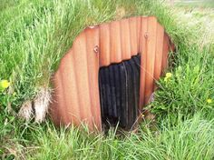 Anderson Shelter, Ness Battery, Stromness Dec10 Anderson Shelter, Cool Sheds, Outdoor Furniture, Outdoor Decor, Outdoor Storage, Home Decor, Decoration Home, Room Decor, Home Interior Design