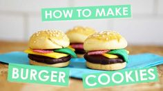 How to Make Burger Shortbread Cookies