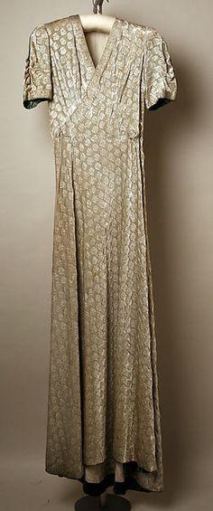 Evening ensemble Designer: Jessie Franklin Turner Date: 1931–32 Culture: American Medium: silk, metallic, rayon Accession Number: C.I.50.47.5a, b
