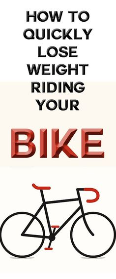 Here are some simple tips on how to burn fat while on the bike. It's not as complicated as you may think and you'll see results in no time... #weightloss #loseweight #burnfat #cycling #bike