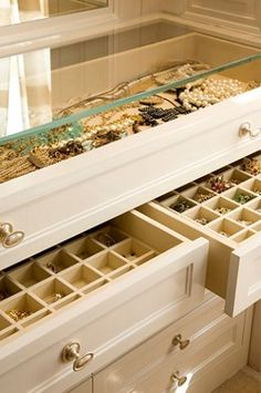 With shoe space where bottom drawers are