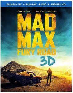 MAD MAX FURY ROAD (BLU-RAY 3D / BLU-RAY DISC HIGH DEFINITION / DVD VIDEO / DIGITAL HD ULTRAVIOLET)
