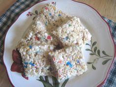 The Better Baker: Cake Batter Rice Krispy Treats