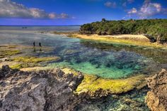 I have another pin about Bise, Okinawa (North of the aquarium) but this is another point of interest. Beautiful!!