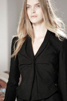 Mirte Maas @ Calvin Klein SPRING 2012 READY-TO-WEAR
