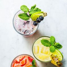 Mojitos, 3 Ways Gives You A Perfect Drink No Matter Your Choice Vodka Tonic, Gin Fizz, Infused Vodka, Blood Mary Recipe, Mojito Punch Recipe, Spiked Seltzer, Basil Lemonade, Rosemary Simple Syrup, Strawberry Mojito