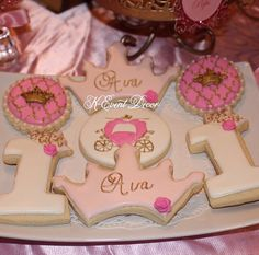 baby first birthday princess theme Princess birthday party Cute