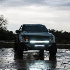 Custom Ford Raptor Bumper with custom lighting