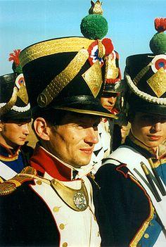 Су-лейтенант, 46-линейный полк. Бородино. 1999 г.