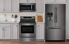 Image result for FRIGIDAIRE BLACK STAINLESS KITCHEN IMAGE