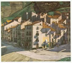 Southern Town France, Charles Rennie Mackintosh