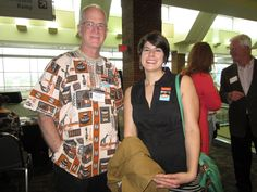 IIMN staff Michael and Lauren