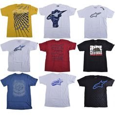 Alpine Stars men's s/s tee http://www.tradeguide24.com/3994___Alpine_Stars_men__s_s_s_tee_assortment_24pcs.__ALP_ASST___ #alpinestars #fashion #stocklot #wholesale