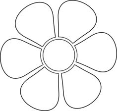 8 Best Images of Large Flower Stencils Printable - Printable Large Flower Template, Free Printable Flower Stencil Patterns and Daisy Flower Stencils Printable Applique Templates, Templates Printable Free, Applique Patterns, Stencil Patterns, Mosaic Patterns, Felt Flower Template, Printable Flower, Felt Flowers Patterns, Flower Outline
