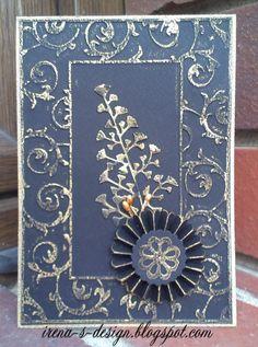 Irena's art - a handmade card