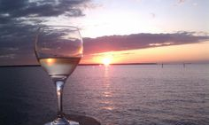 Sunsets and Wine....Perfect!