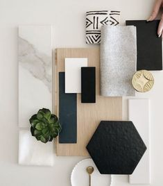 Palette Deco, Design Palette, Mood Board Interior, Interior Design Boards, Interior Design Presentation, Material Board, Deco Design, Colour Schemes, Home Design