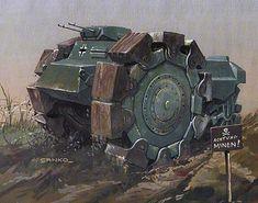 American land mineswipper - Dieselpunks