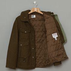Engineered Garments Cruiser Jacket (Loden Melton)   Oi Polloi