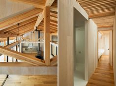 JP architects stretches timber clad qilin house in japan