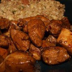 Bourbon Chicken recipe
