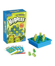 Love this ThinkFun Hoppers Board Game by ThinkFun on #zulily! #zulilyfinds