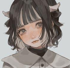 Pretty Art, Cute Art, Manga Art, Anime Art, Powerpuff Girls Cartoon, Korean Art, Fanarts Anime, Art Sketchbook, Aesthetic Art
