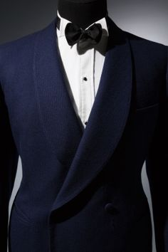 Blue Knize dinner jacket