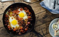 Chorizo Tomato & Egg Breakfast Skillet | Recipe