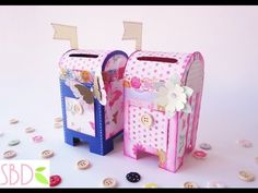 Cassetta delle lettere salvadanaio tutorial - Money saver Mailbox diy - YouTube