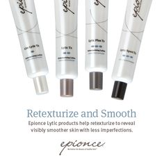 Up your anti-aging game. Pair a Lytic product & Renewal Facial product for your skin type.