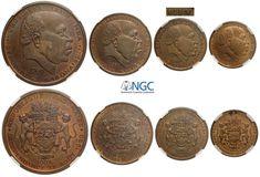 Gabon, Republic, Copper Pattern Proof Set 1960 ... - Numismatic Auctions - Aurora World Coins, Aurora, Auction, Copper, Pattern, Patterns, Northern Lights, Brass, Model