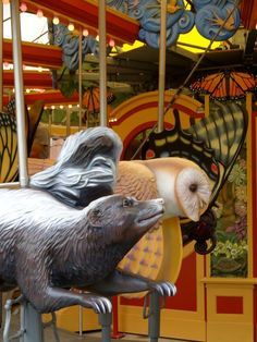 New carousel on the Rose Kennedy Greenway in Boston