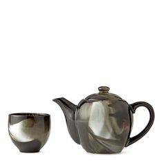 Fume Black Teapot Set