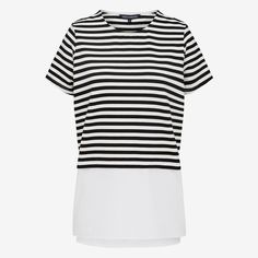 New Arrivals | Stripe Spliced Tee. #frenchconnectionau #fcuk