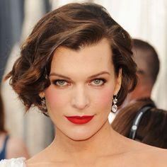 Milla Jovovich's Hair and Makeup at the 2012 Oscars   POPSUGAR Beauty Australia