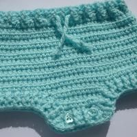 Crocheting: Baby Diaper Nappy Cover Pants Crochet