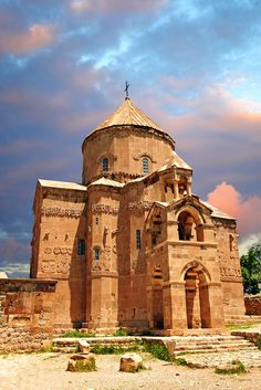 Pictures of The Armenian Cathedral of Akdamar, Lake Van , Turkey - Stock Photos…