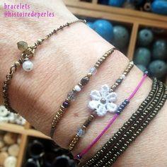 Arm Party, Costume Jewelry, Jewelry Accessories, Instagram, Bracelets, Bead, Jewelry Findings, Bracelet, Arm Bracelets