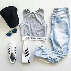 25 Super Ideas For Sneakers Outfit Pink Casual Fashion Mode, Teen Fashion Outfits, Mode Outfits, Outfits For Teens, Fall Outfits, Womens Fashion, Fashion Clothes, Sport Fashion, Jeans Fashion