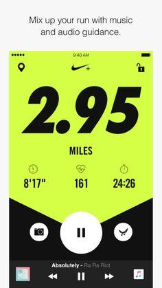Fitness | Trackers Nike+ Run Club by Nike, Inc