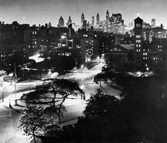Washington Square South, 1959