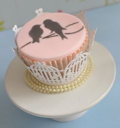 Vintage Wedding Cupcakes | Little Paper Cakes on Flickr