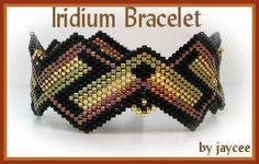 Iridium Bracelet sport motif à par jayceepatterns sur Etsy