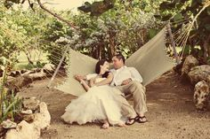 image by @Heather Espana McGeehon   #wedding #destination #Jamaica #hammock #beach